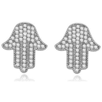 Watches & Jewellery  Women Earrings Blue Pearls PDC C329 White