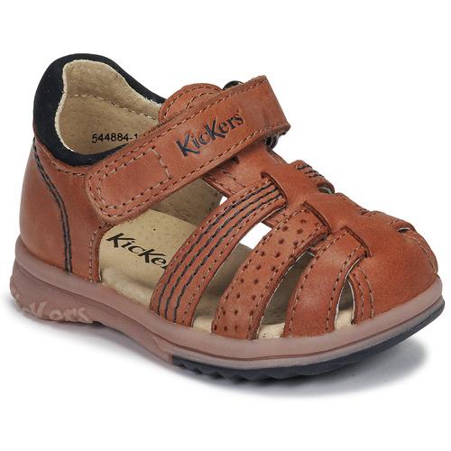 Shoes Boy Sandals Kickers PLATIBACK Camel