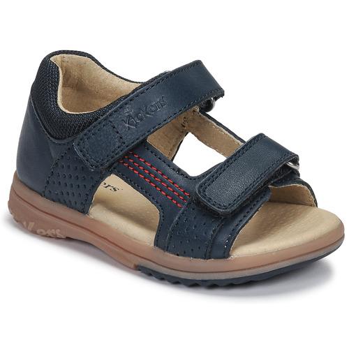 Shoes Boy Sandals Kickers PLAZABI Marine