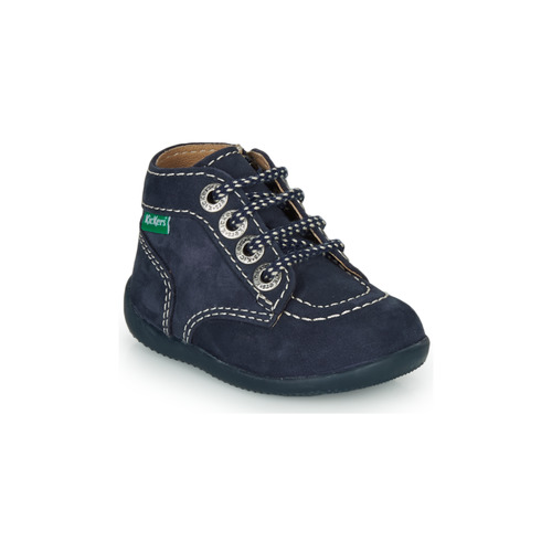 Shoes Children Mid boots Kickers BONZIP-3 Marine