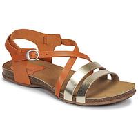 Shoes Women Sandals Kickers ANATOMIUM Camel / Gold