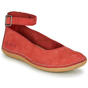Shoes Women Flat shoes Kickers HONNORA Red