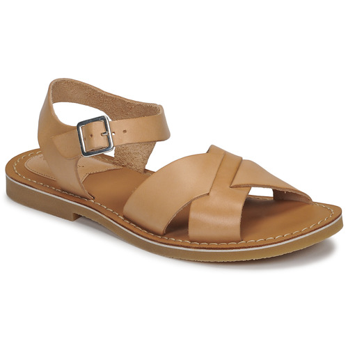 Shoes Women Sandals Kickers TILLY Beige