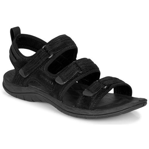 Shoes Women Outdoor sandals Merrell SIREN 2 STRAP Black