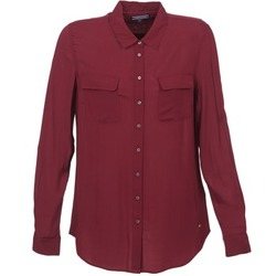 Clothing Women Shirts Tommy Hilfiger FEMI BORDEAUX