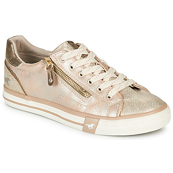 Shoes Women Low top trainers Mustang  Gold
