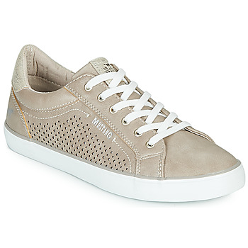 Shoes Women Low top trainers Mustang 1267311 Beige