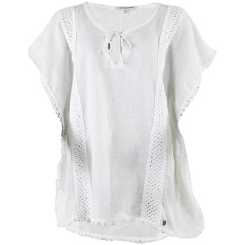 Clothing Women Tunics Banana Moon White Tunic Stephenson Roberts WHITE