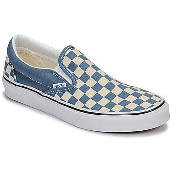 Shoes Slip-ons Vans Classic Slip-On Blue / White