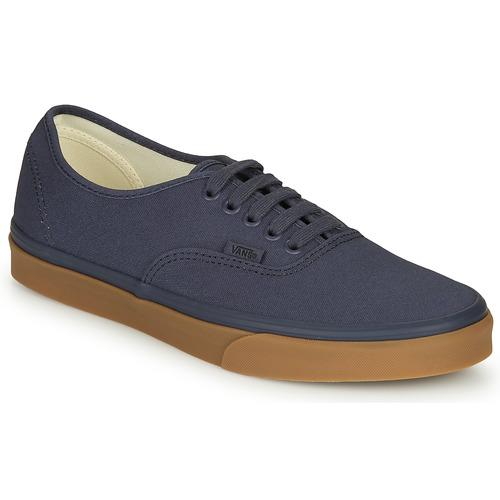 Shoes Men Low top trainers Vans AUTHENTIC Marine
