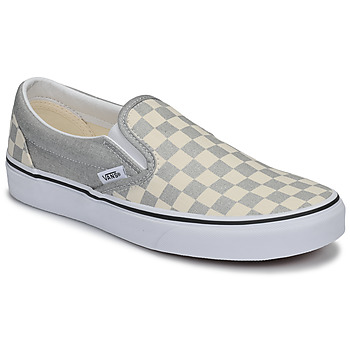 Shoes Women Slip-ons Vans CLASSIC SLIP-ON Silver