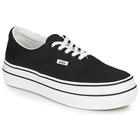 Shoes Women Low top trainers Vans SUPER COMFYCUSH ERA Black