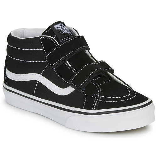 Shoes Children Hi top trainers Vans SK8-MID REISSUE V Black / White