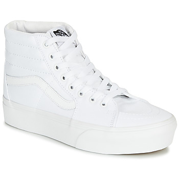 Shoes Women Hi top trainers Vans SK8-HI PLATFORM 2.0 White