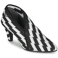 Shoes Women Heels United nude FOLD LITE MID Black / White
