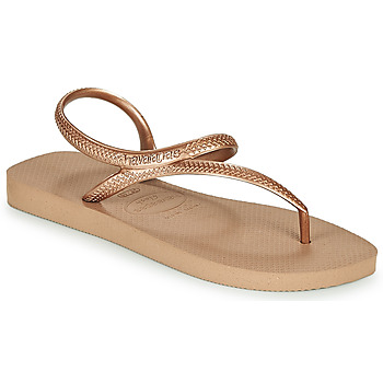 Shoes Women Flip flops Havaianas FLASH URBAN Pink / Gold
