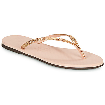 Shoes Women Flip flops Havaianas YOU SHINE Pink