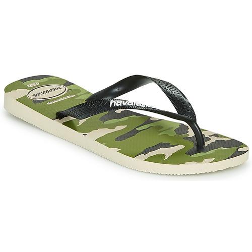Shoes Men Flip flops Havaianas TOP CAMU Green