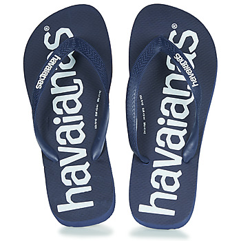 Shoes Men Flip flops Havaianas TOP LOGOMANIA Navy / Blue