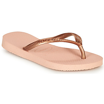 Shoes Girl Flip flops Havaianas SLIM Pink