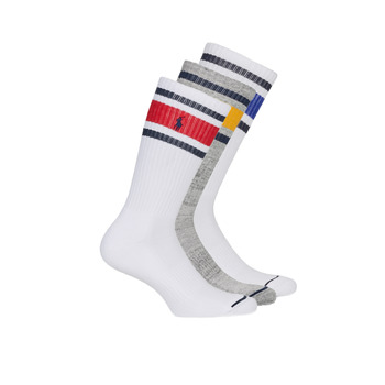 Shoe accessories Men Socks Polo Ralph Lauren 3PK OC CH ST-CREW-3 PACK White