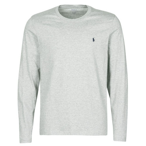 Clothing Men Short-sleeved t-shirts Polo Ralph Lauren L/S CREW-CREW-SLEEP TOP Grey