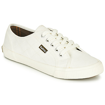 Shoes Women Low top trainers Barbour LUNA White