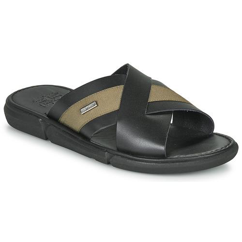 Shoes Men Sandals Barbour ALEX  black / Olive