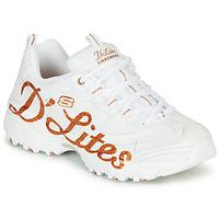 Shoes Women Low top trainers Skechers D'LITES White