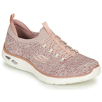 Shoes Women Low top trainers Skechers EMPIRE D'LUX Pink