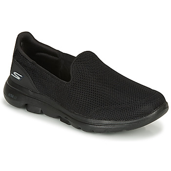 Shoes Women Low top trainers Skechers GO WALK  black