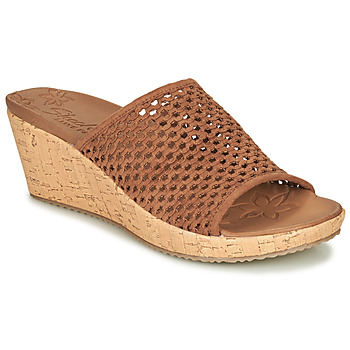 Shoes Women Sandals Skechers BEVERLEE Brown