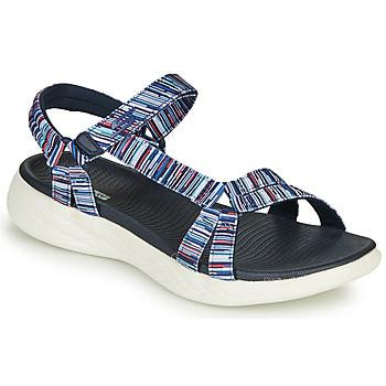 Shoes Women Sandals Skechers ON-THE-GO Multicolour
