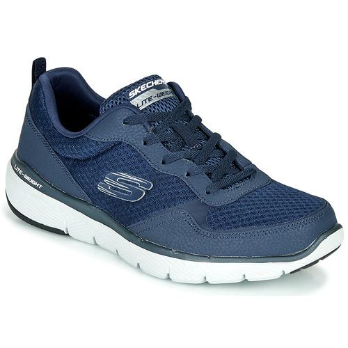 Shoes Men Low top trainers Skechers FLEX ADVANTAGE Navy