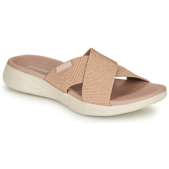 Shoes Women Sandals Skechers ON-THE-GO Mauve