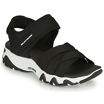 Shoes Women Sandals Skechers D'LITES 2.0  black / White