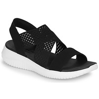 Shoes Women Sandals Skechers ULTRA FLEX  black / White