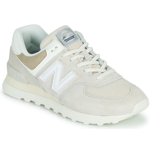 Shoes Low top trainers New Balance 574 Beige