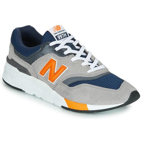 Shoes Men Low top trainers New Balance 997 Navy / Grey / Orange
