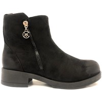 Shoes Women Mid boots Chattawak Botine 8-Vamp Noir Black