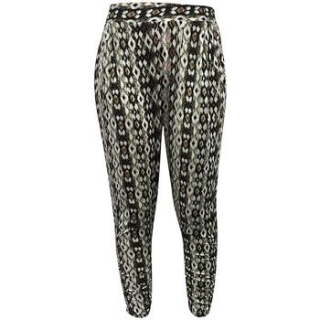 Clothing Women Wide leg / Harem trousers Dress Code Pantalon CT-5672C Vert Green