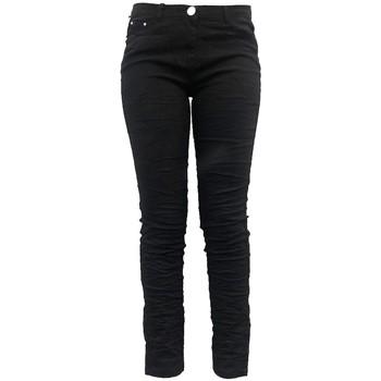 Clothing Women Wide leg / Harem trousers Dress Code Pantalon C601 Noir Black