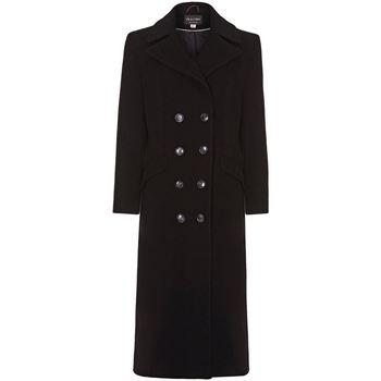 Clothing Women Coats Anastasia Grey Womens Double Breasted Cashmere Coat Grey