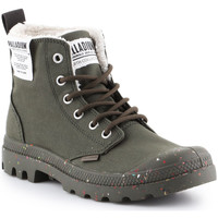 Shoes Hi top trainers Palladium Pampa Earth 76437-309-M green