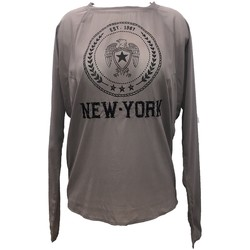 Clothing Women Tops / Blouses Charlie Joe Top New york Est 1967  Taupe Brown