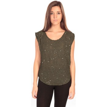 Clothing Women Tops / Blouses Charlie Joe Top Pearl Vert Green