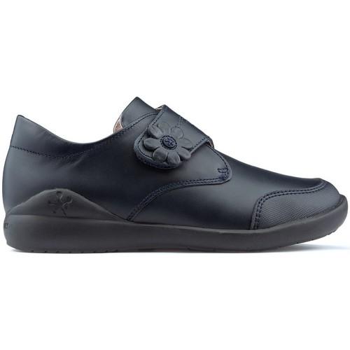Shoes Girl Derby Shoes & Brogues Biomecanics FLOWER  SCHOOLS MARINE