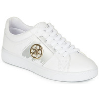 Shoes Women Low top trainers Guess  White / Gold