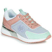 Shoes Women Low top trainers Guess  Pink / Blue