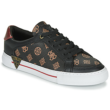 Shoes Women Low top trainers Guess  Brown